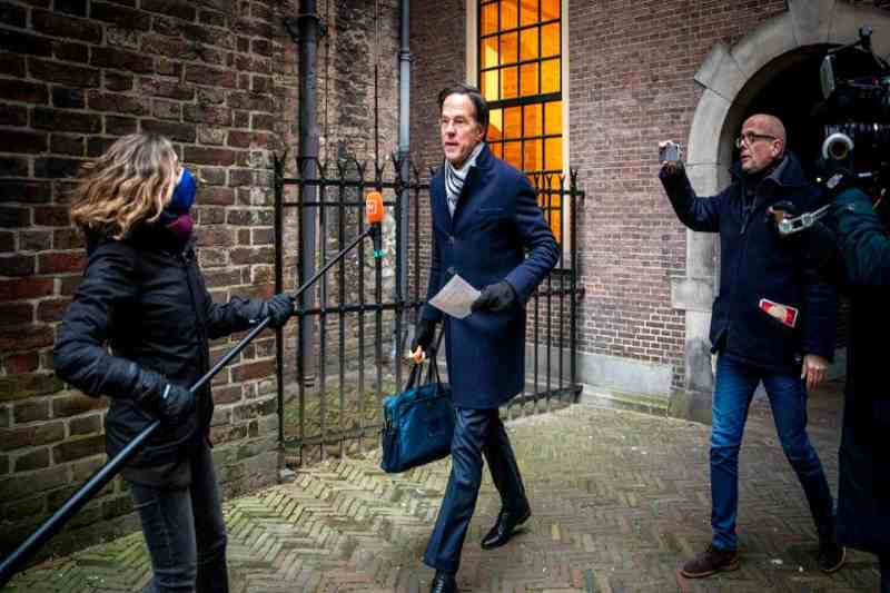Collapsed government in Netherlands: PM Rutte submits cabinet resignation over child welfare fraud scandal