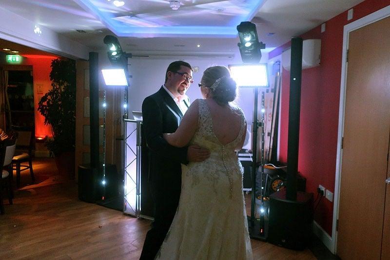 Shophie & Tom's wedding reception at The Little Downham Anchor