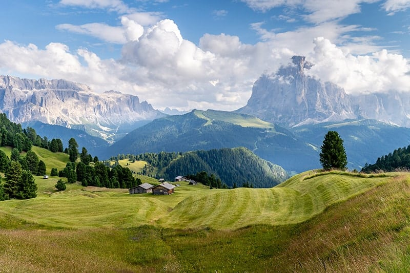 Mountains in Italy