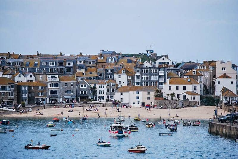 St. Ives, West Cornwall.