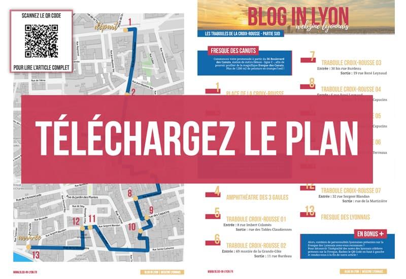 Visiter Lyon - Plan à télécharger | Blog In Lyon