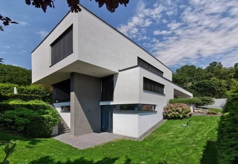 Modernes Flachdachhaus in Königstein