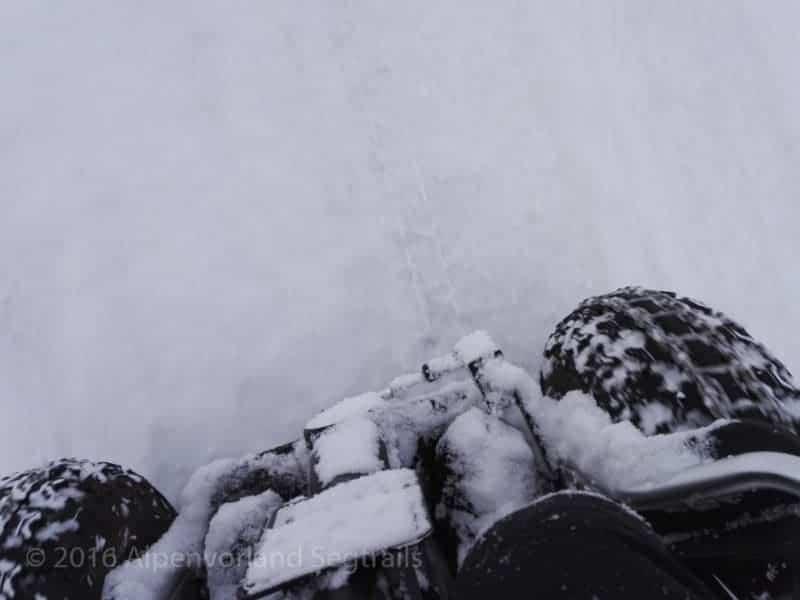 dick Schnee auf Segway