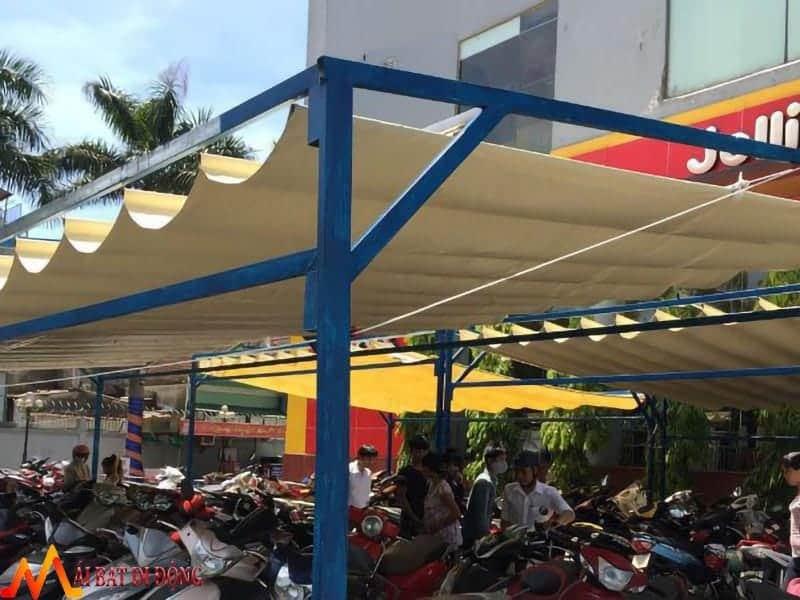 mái che nhà để xe máy