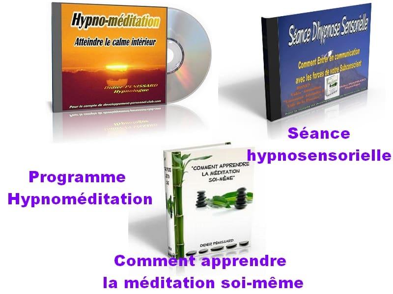 Programme Hypnoméditation pour atteindre le vide mental en moins de 10 minutes. apprenez à méditer par le vide de la pensée