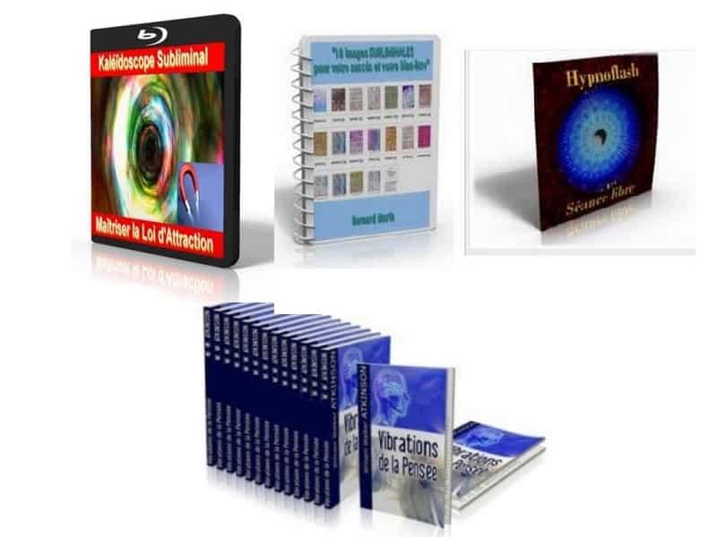 Maîtriser la loi d'attraction kaléidoscope subliminal