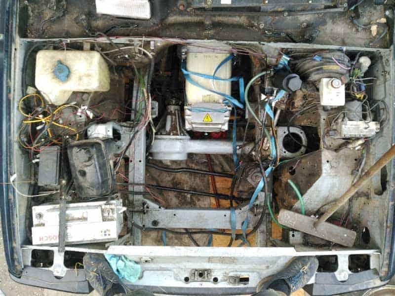 Land Rover elektrisch ombouw