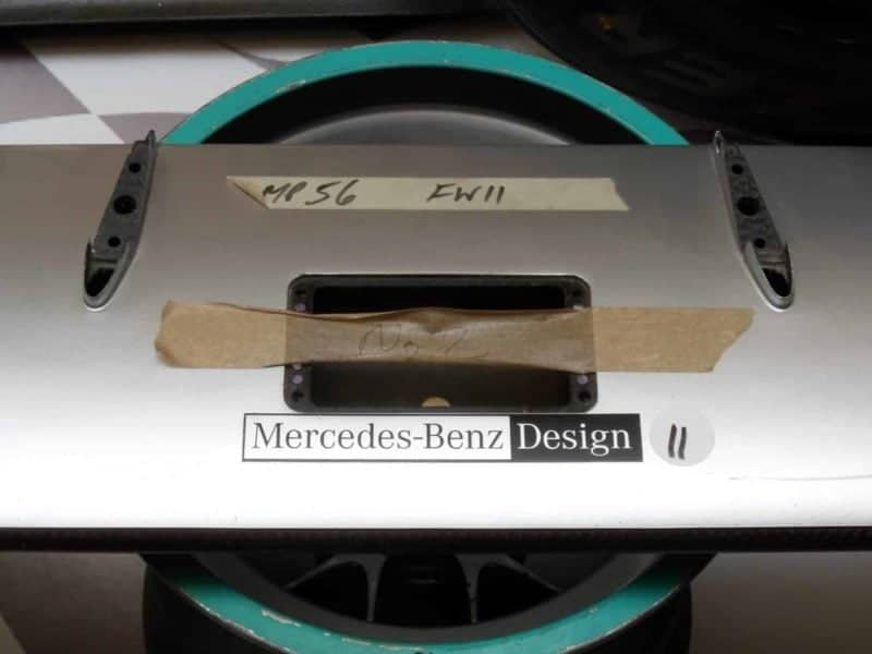NOW SOLD-Schumacher / Rosberg Mercedes front wing