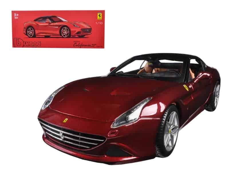Ferrari California T Closed Top Red Signature Series 1/18 Diecast Model Car by Bburago