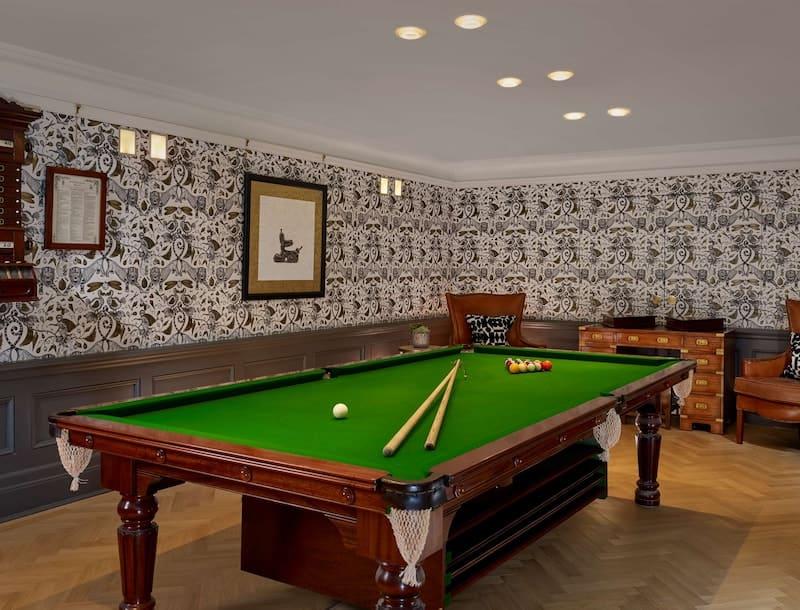 Holmes Hotel London Venue Billiards Room Eventify small events blog