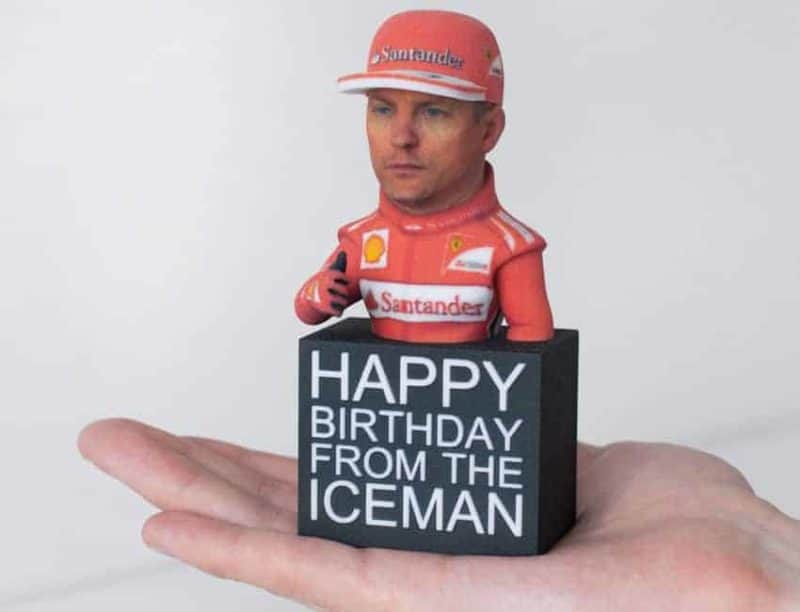 Happy Birthday From The ICEMAN Figure