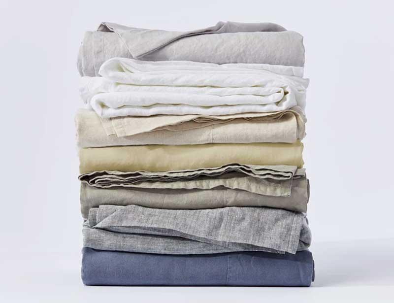 Coyuchi organic linen bedding