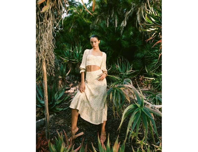 Reformation sustainable fashion brand