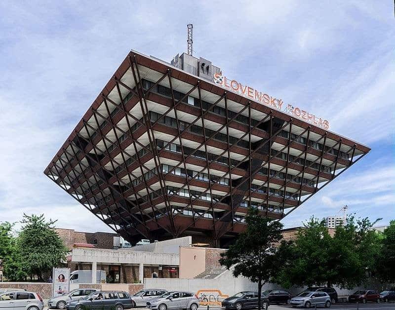 Slovak Radio Building, Bratislava