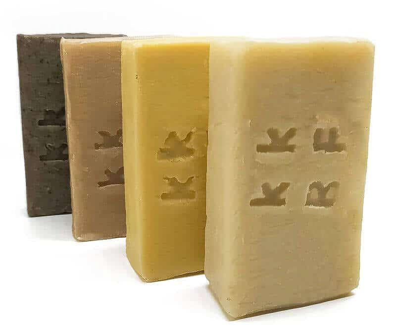 quattro tipi di saponi