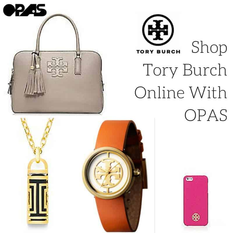 Shop Tory Burch Online With OPAS