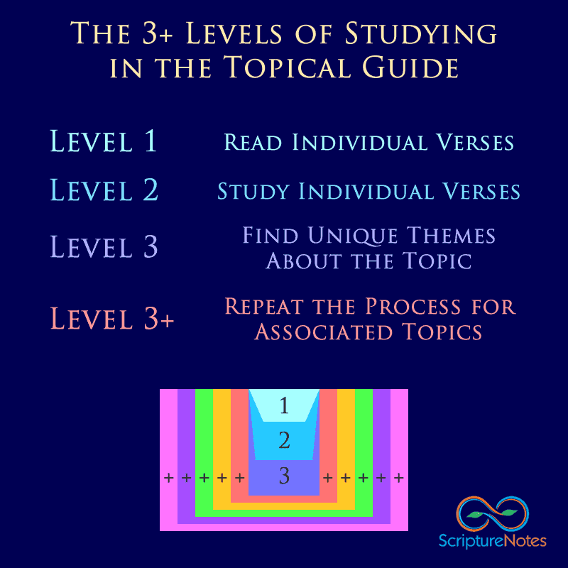 3+ Levels of Scripture Study