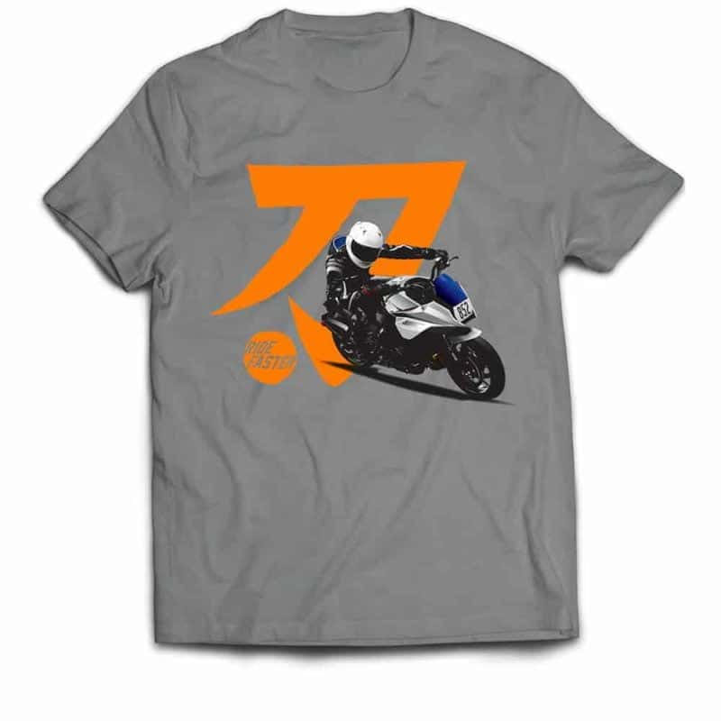 Ride Faster Suzuki Katana 852 T-shirt (Grey)