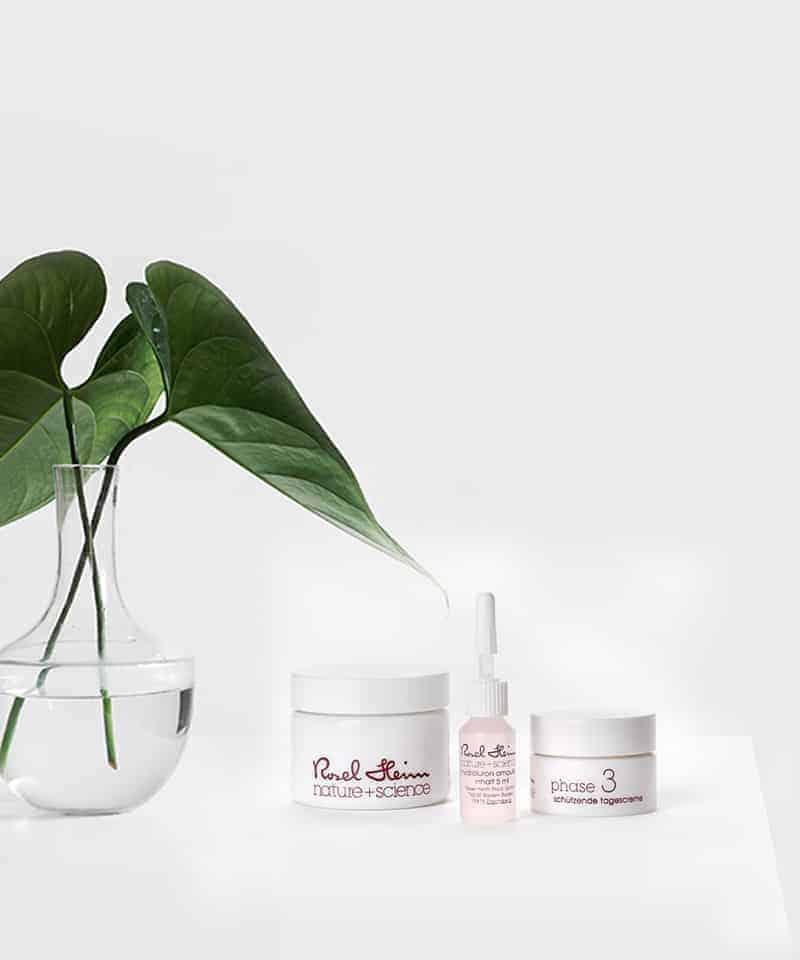 Produkte zur regulativen Hauttherapie nach Rosel Heim