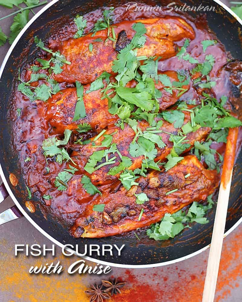 A Flavor Packed Fish Curry With Anise @RunninSrilankan