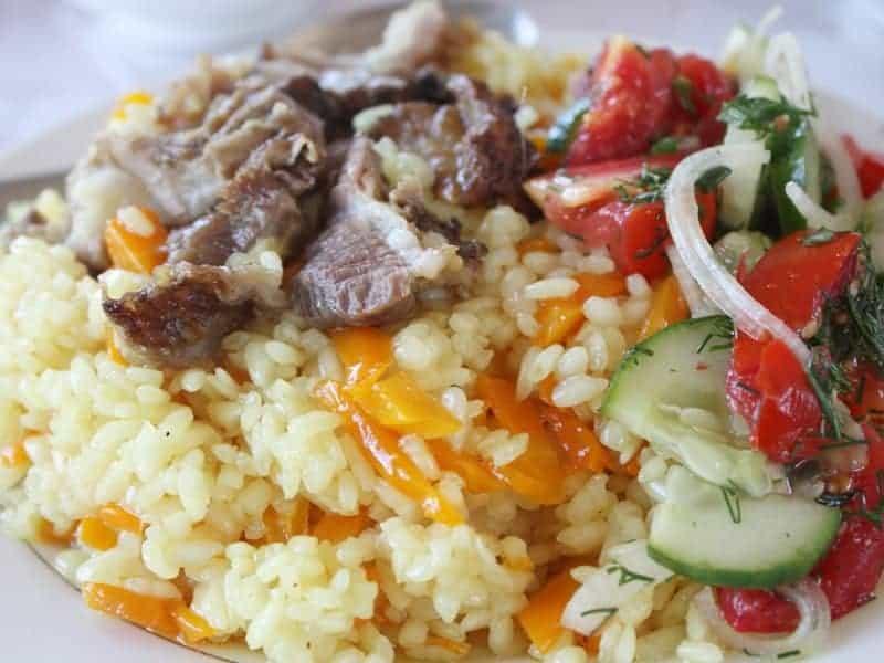 Plov recipe Turkmenistan