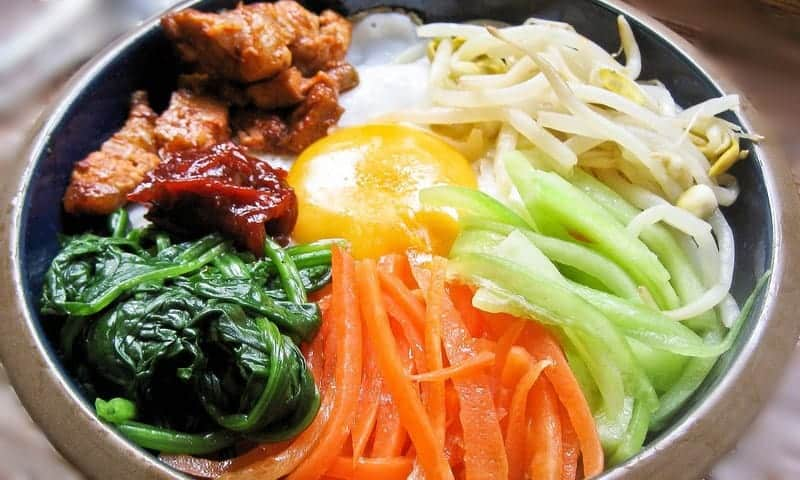 Bibimbap Mixed Rice