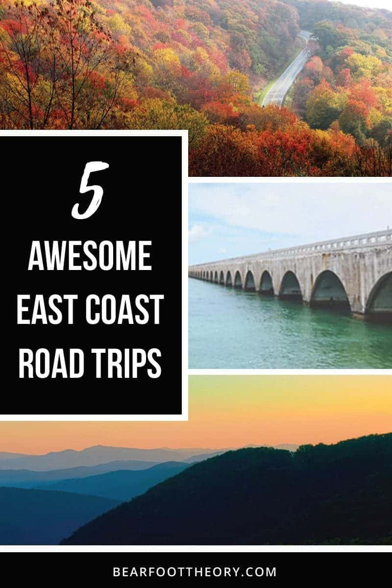 Explore the beautiful East Coast by car with these 5 adventurous East Coast road trips, from the mountains of Maine to the Florida coast.