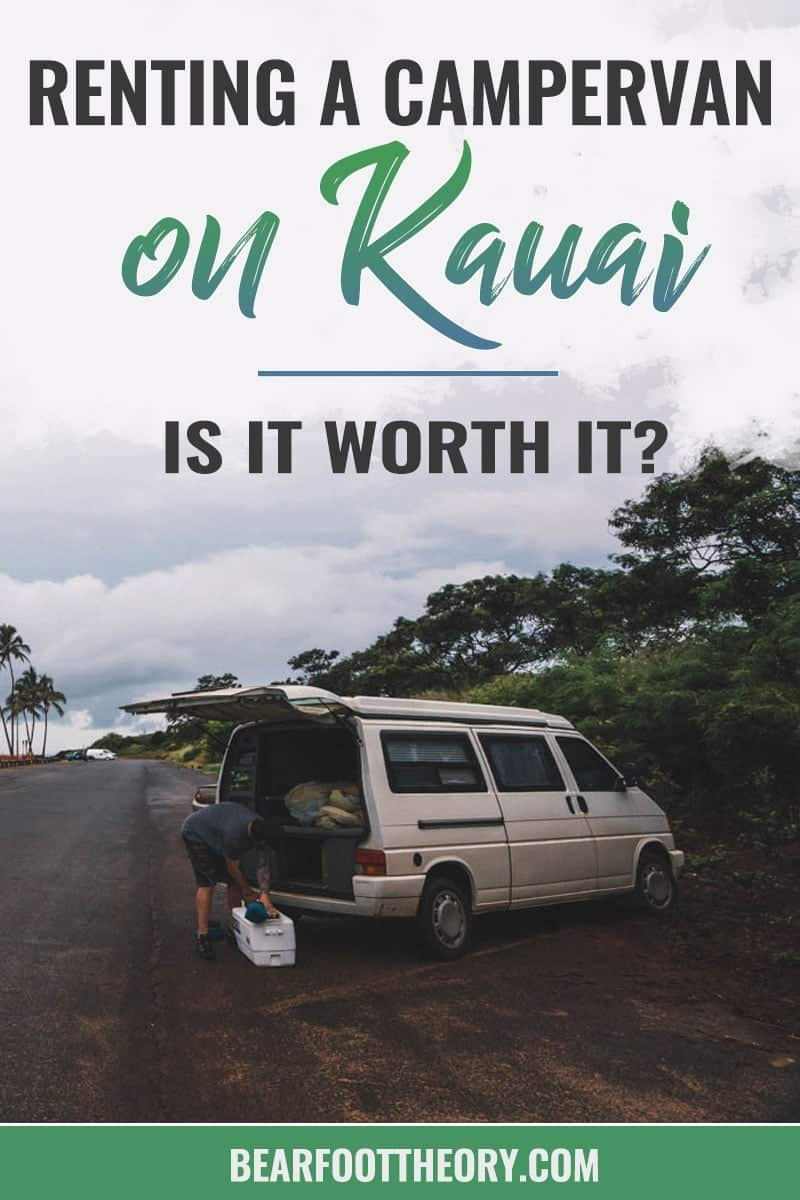 Thinking about renting a 4x4 truck camper or VW-style campervan on Kauai? Read about my vanlife experiences during a recent Kauai vacation. Learn the beach campgrounds where it is legal to sleep in your car, and see if renting campervan is the right choice for your Kauai adventures.