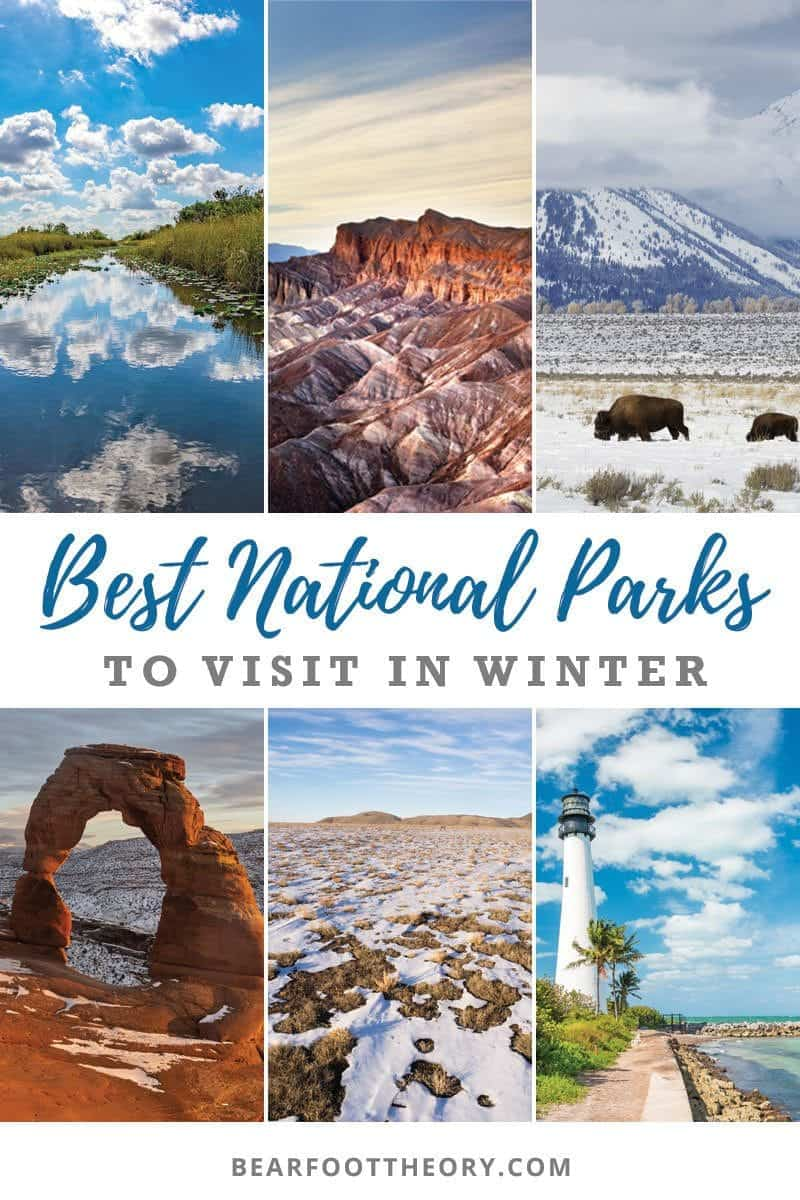 These are the best national parks to visit in the winter to help you stay outside all year round. Visit our favorites & avoid the summer crowds.