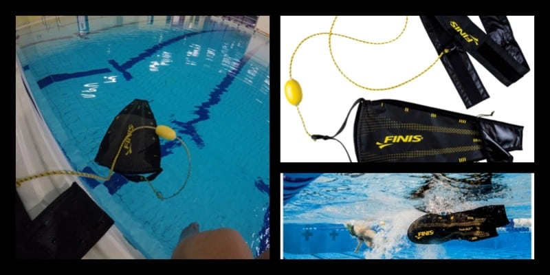 Swimming with the Finis Parachute