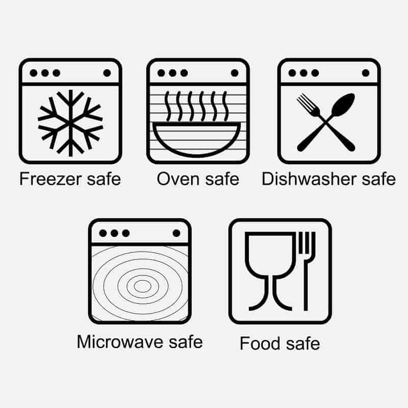 oven safe symbol