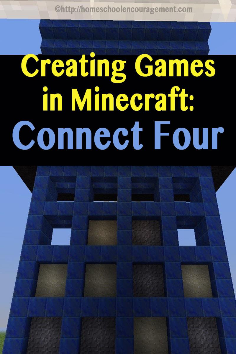 How to create a board game (Connect Four) in Minecraft using electricity.