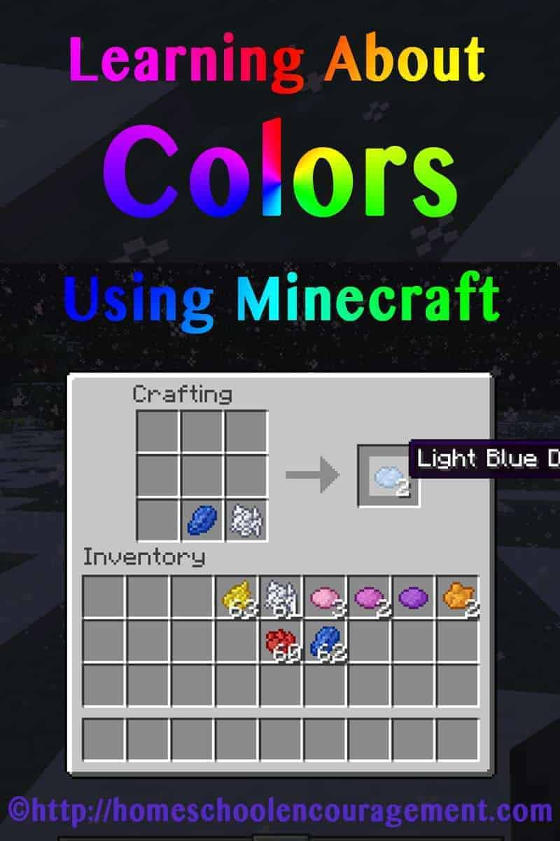 Learning About Colors Using Minecraft