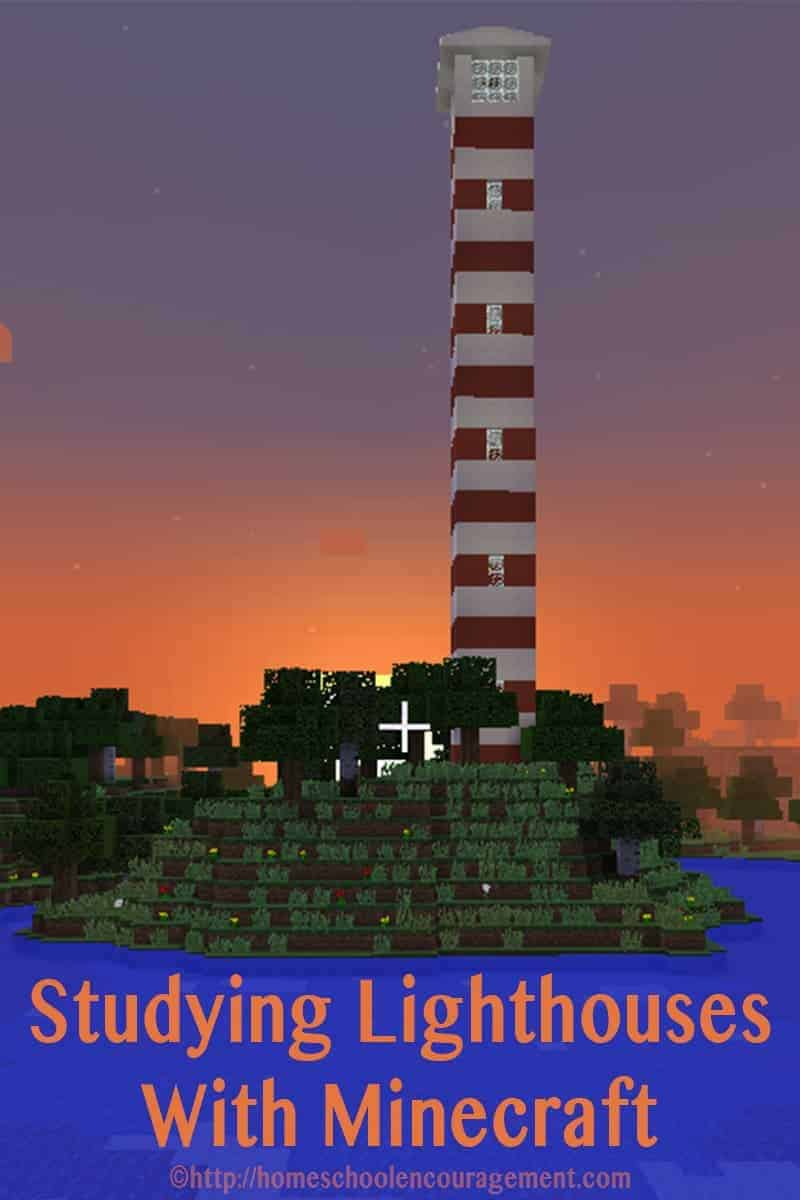 Lighthouses are fascinating. Here are great ideas for studying lighthouses with Minecraft.