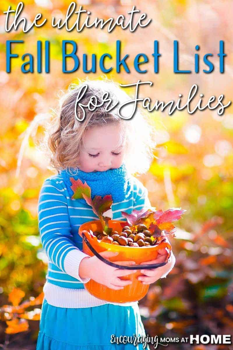Do you have a fall bucket list? Take a look at our ideas for family fun this fall and keep up with the activities with our FREE printable.