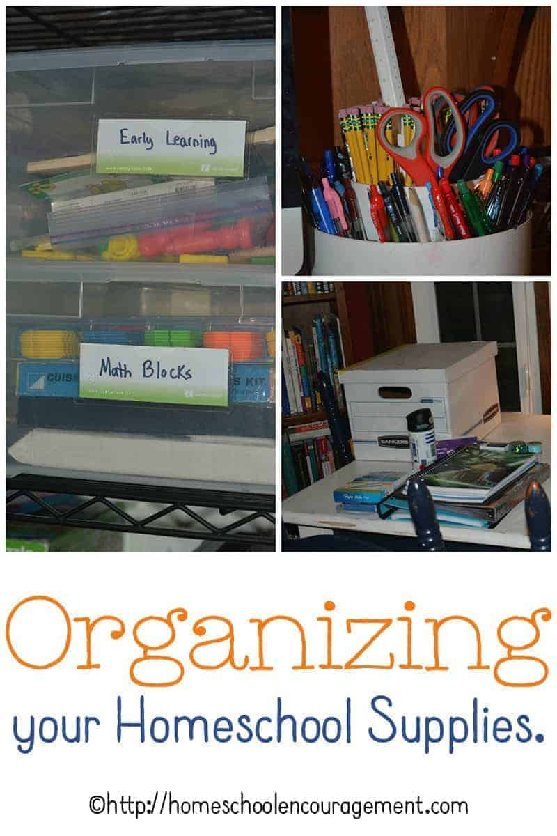 Are you looking for the best ways to organize your homeschool supplies, papers, and toys?  Here are a few tips of the best boxes and methods that work in our homeschool.
