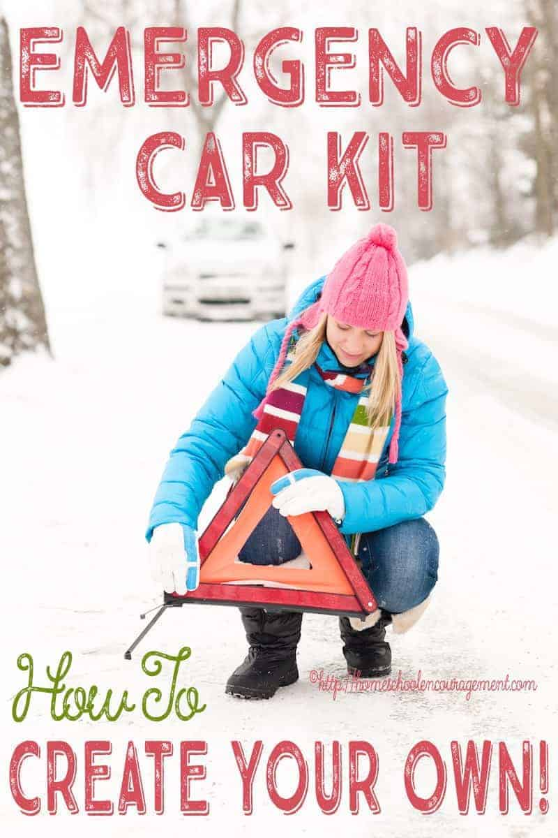 Emergency Car Kit - How to Create your Own winter survival kit for the car.