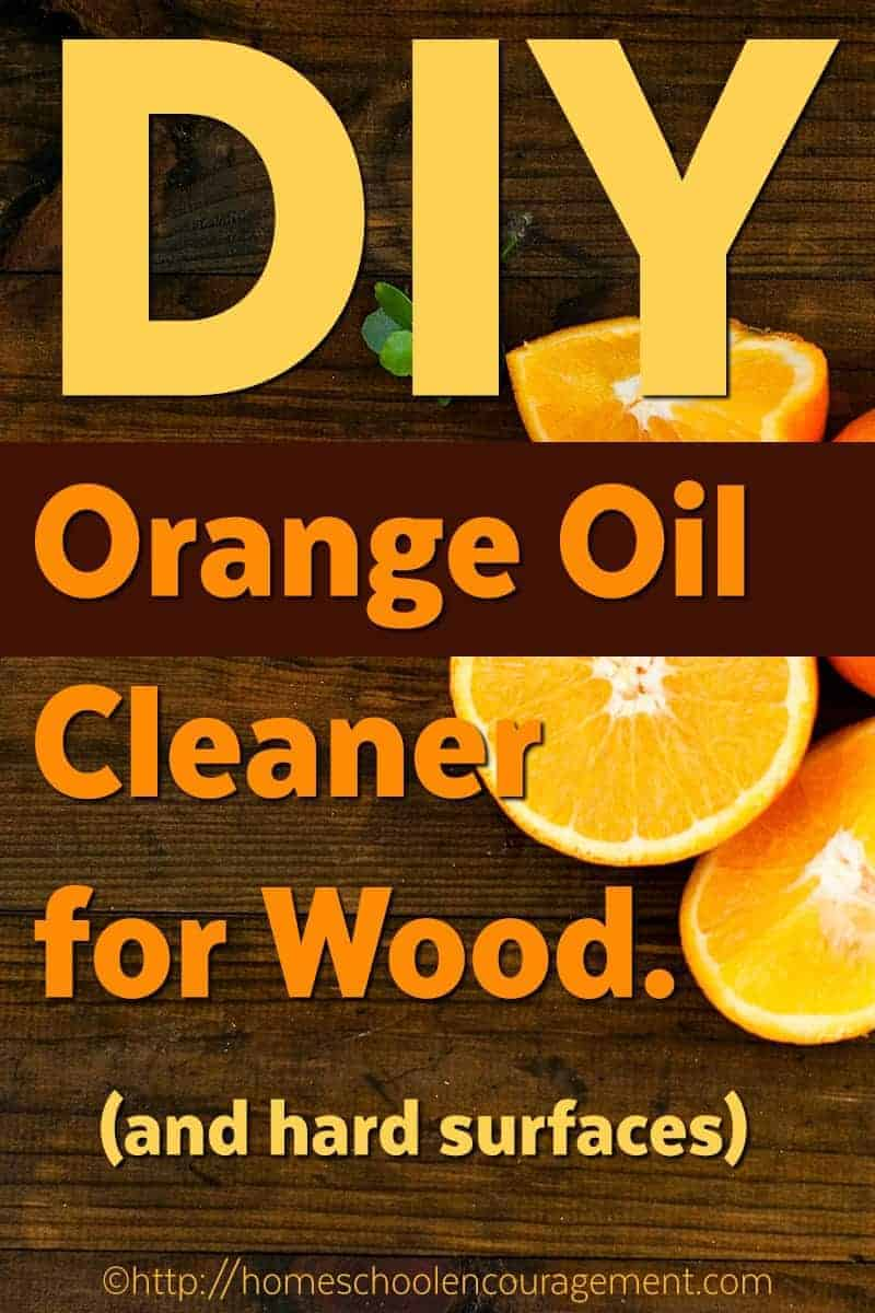 Orange essential oil has antiseptic properties to help remove germs and makes the house smeel fresh and clean.  This DIY Orange Oil Cleaner is a perfect hard surface cleaner for you to use at home.  #essentialoils