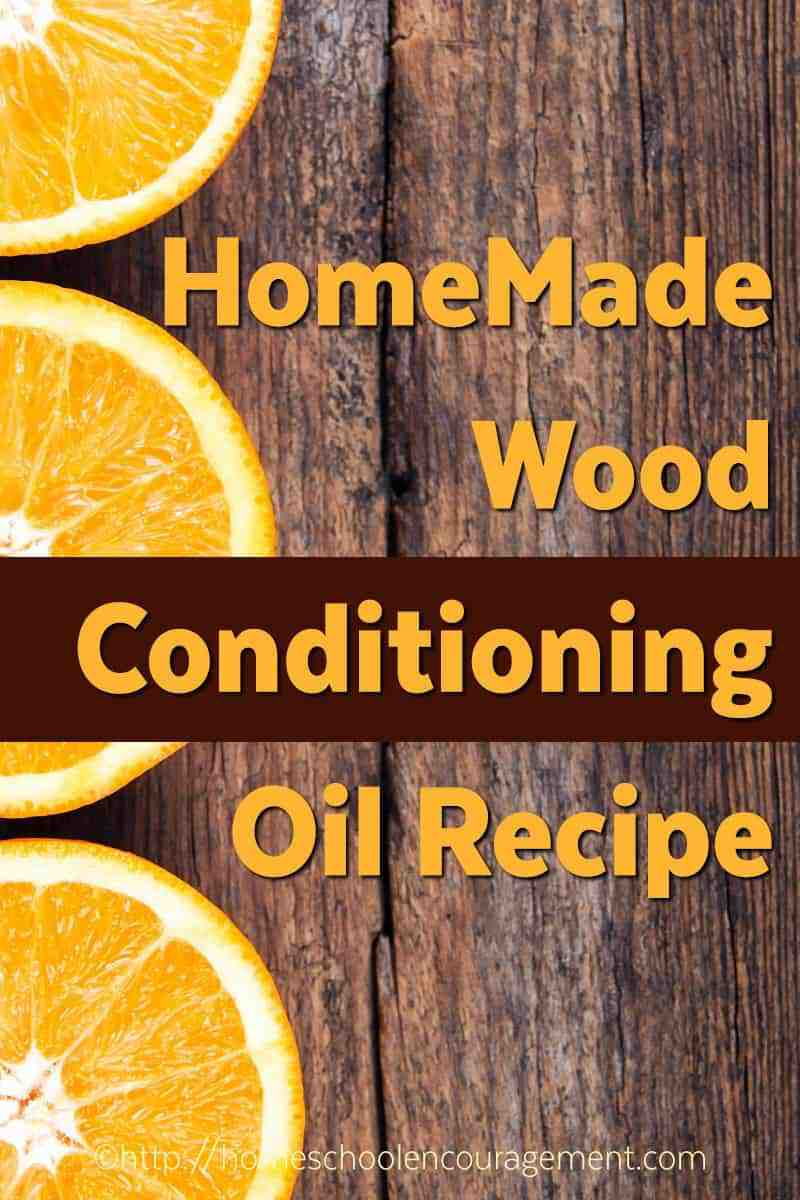 Orange Wood Conditioning Oil Recipe - Do It Yourself, DIY recipe, Make your own conditioner