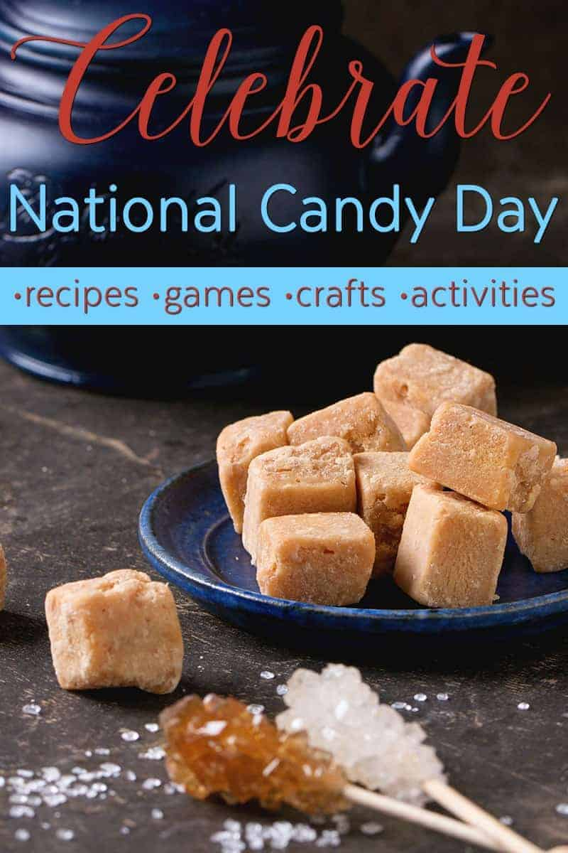 Do you have an excess of candy in your house?  Nov 4th is National Candy Day - kind of makes sense at this time of year. Take a look at our post on how to celebrate with recipes, games, crafts, and activities on National Candy Day, or any other day of the year when you have candy around!