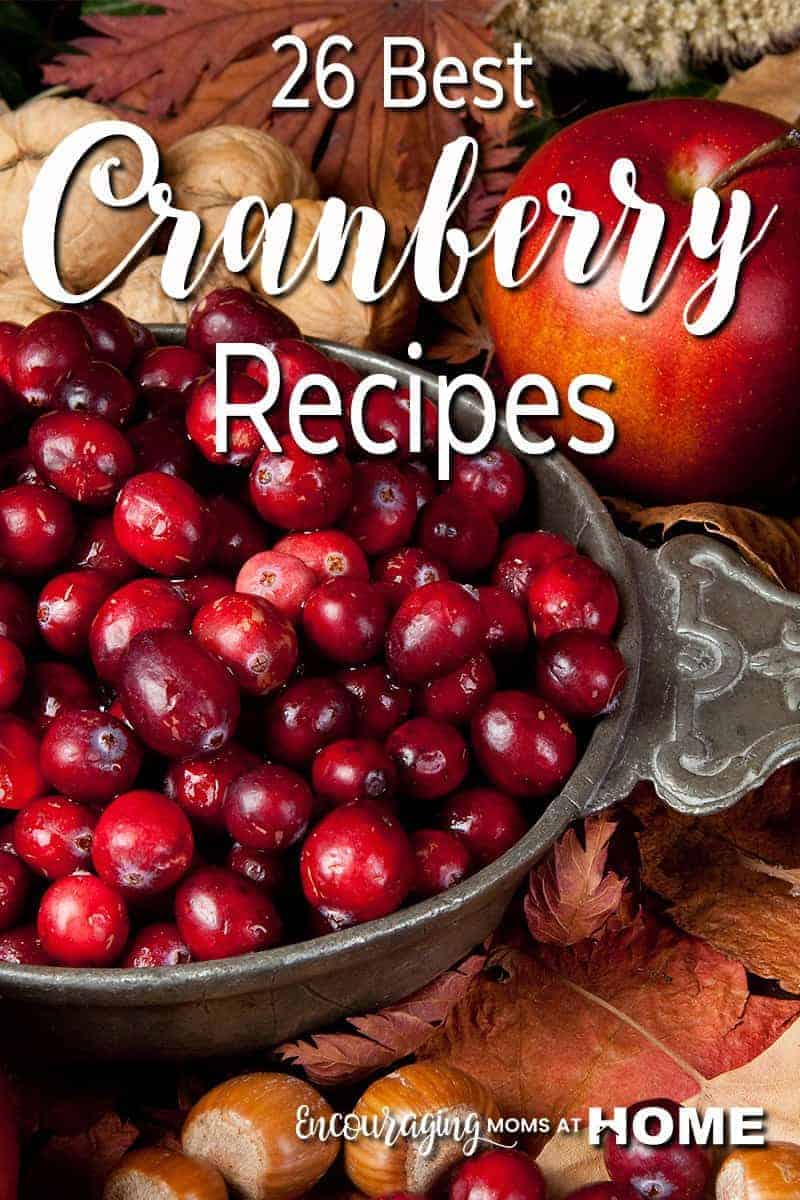Do your holiday traditions include cranberries? Are you looking for a new way  to cook with cranberries? Check out these recipes that are sure to become holiday favorites.
