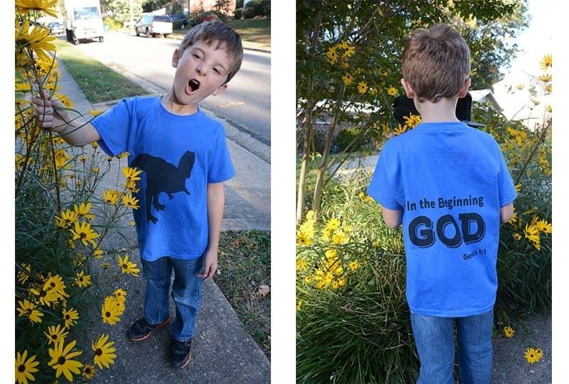 Creation Dinosaur T-Shirts