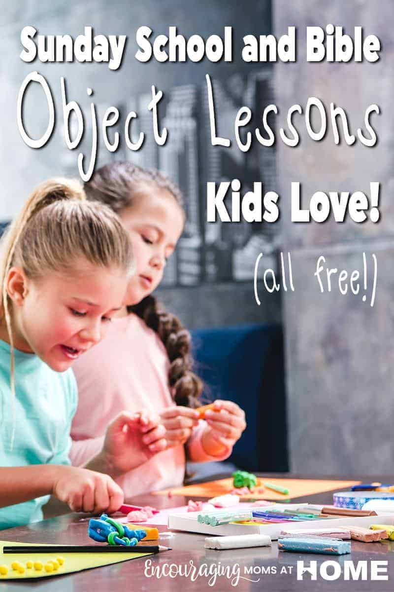 Finding quality, free Bible lessons for kids can be a daunting task. Here are 10 awesome and FREE Bible lessons for kids.
