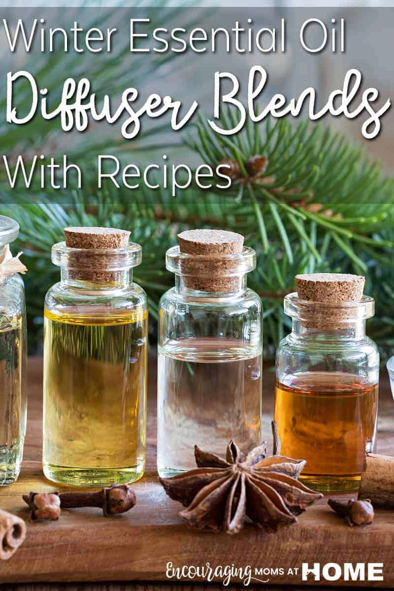 When it's cold outside, there is nothing quite like having crisp scents to warm us up. Essential oils are perfect for that. Take a look at these essential oil diffuser blend recipes that are perfect for the winter season - in addition to a few recipes to help build your immune system during the cold winter months.