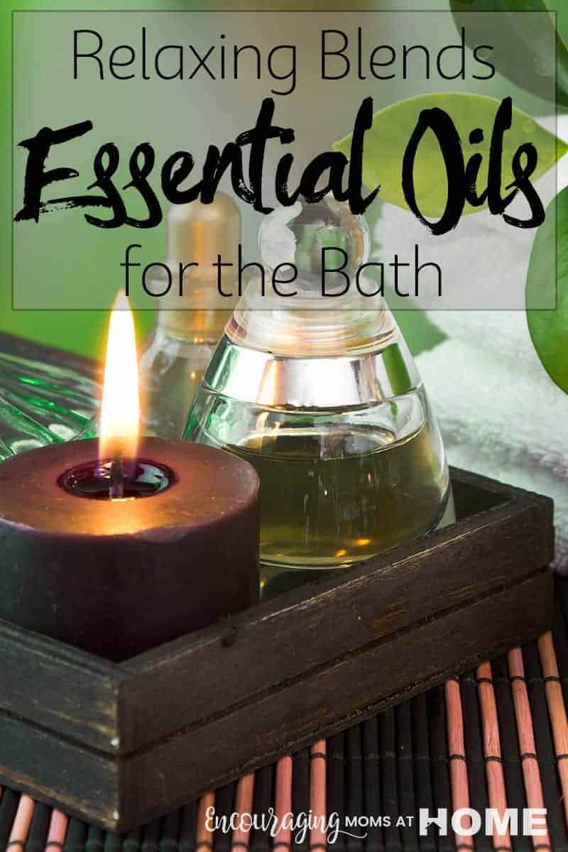 Do you need a way to relax? Or to soothe your muscles and joints? Essential oil bath salts and blends are a great way to enjoy the benefits of essential oil when you need it most. #essentialoils