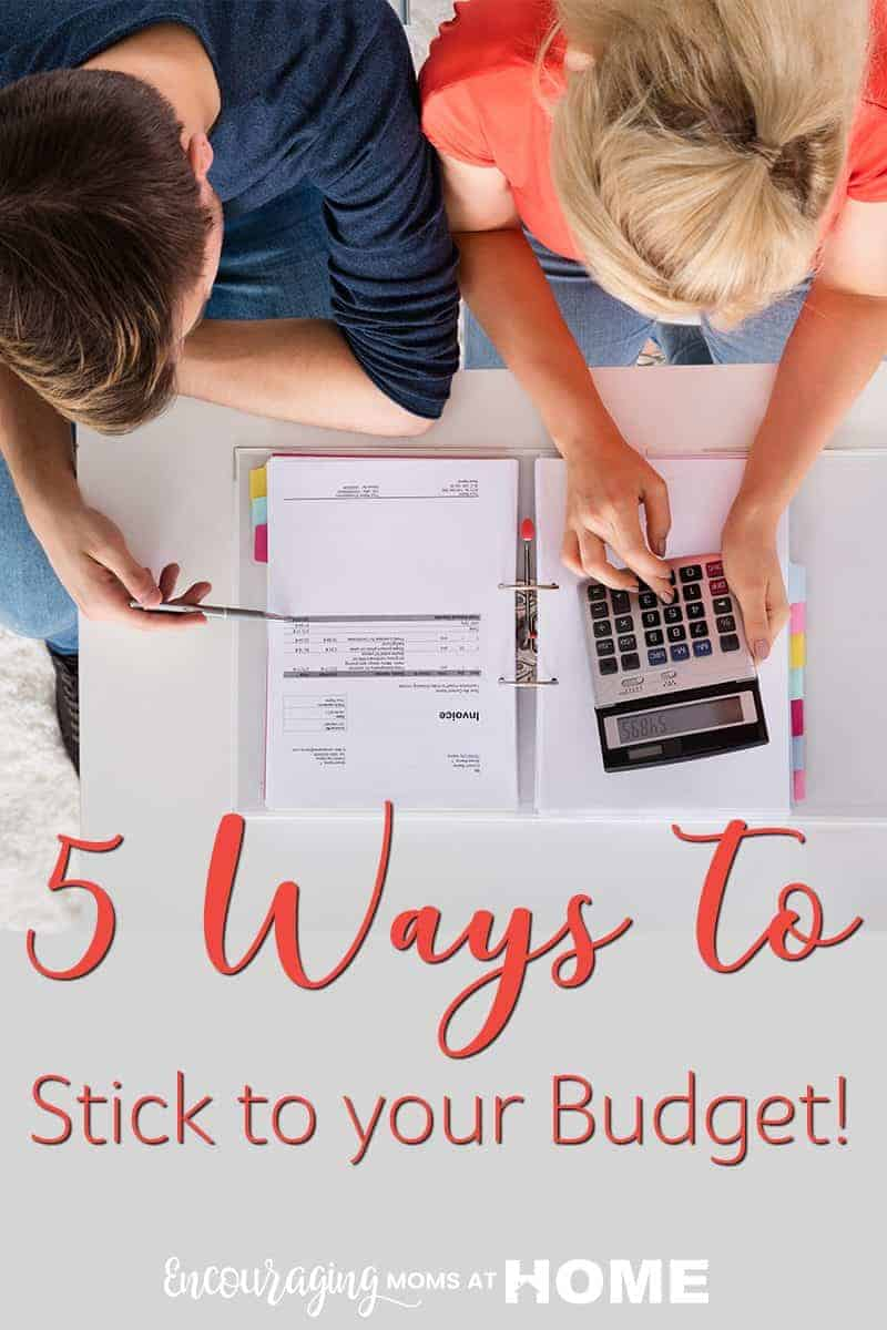 Setting a budget is hard but sticking to it is the really difficult part. The best way to stick to it is to set a few goals and have method of how you will hold fast to the budget that is in place. Here are a few ways to create stick to your budget once it is set.