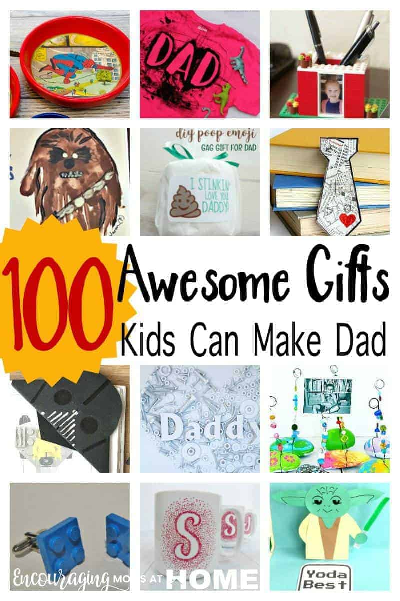 Father's Day Gifts for Kids to Make -- Gifts your children can actually make that Dad's will love -- Star Wars Gifts, LEGO gifts, keepsakes, child-made art gifts, gifts for every interest or hobby! Super Hero Dad gifts.