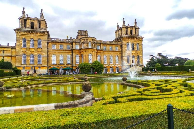 Blenheim Palace in Oxford