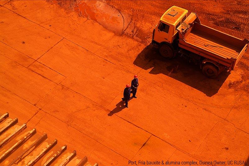 Complejo de Bauxita y Alúmina en Fría, Guinea