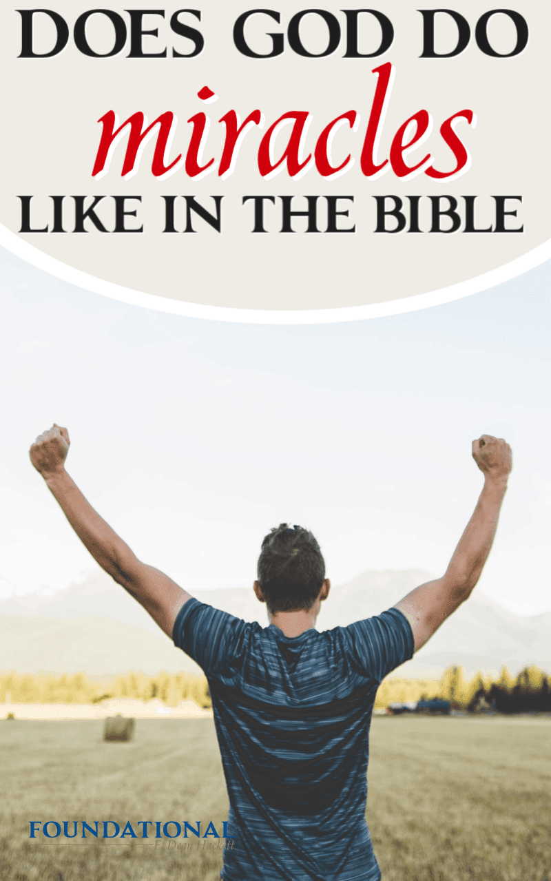 Does God do miracles today like He did in the Bible? Some Christians promote alternative healing while others misuse Scripture to support their beliefs. #Foundational #healing #NewAge